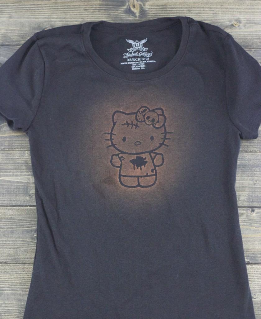 DIY Bleach Stain Shirt
