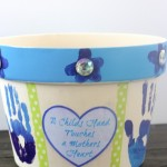 Easy Mother's Day Gift! Hand Print Planter