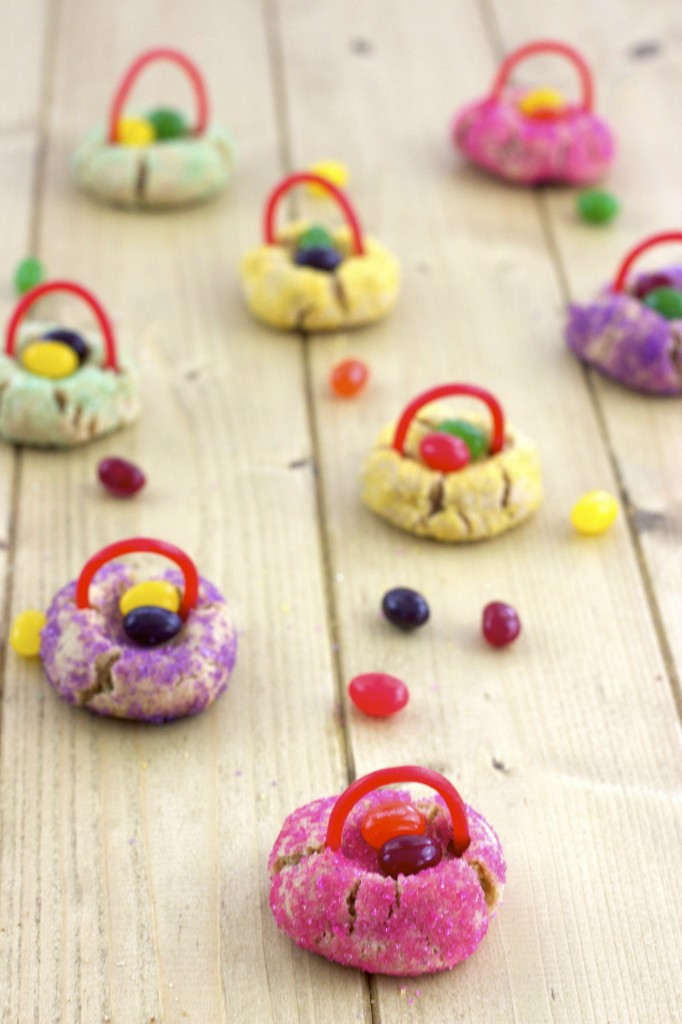 Easter Basket Peanut Butter Cookies