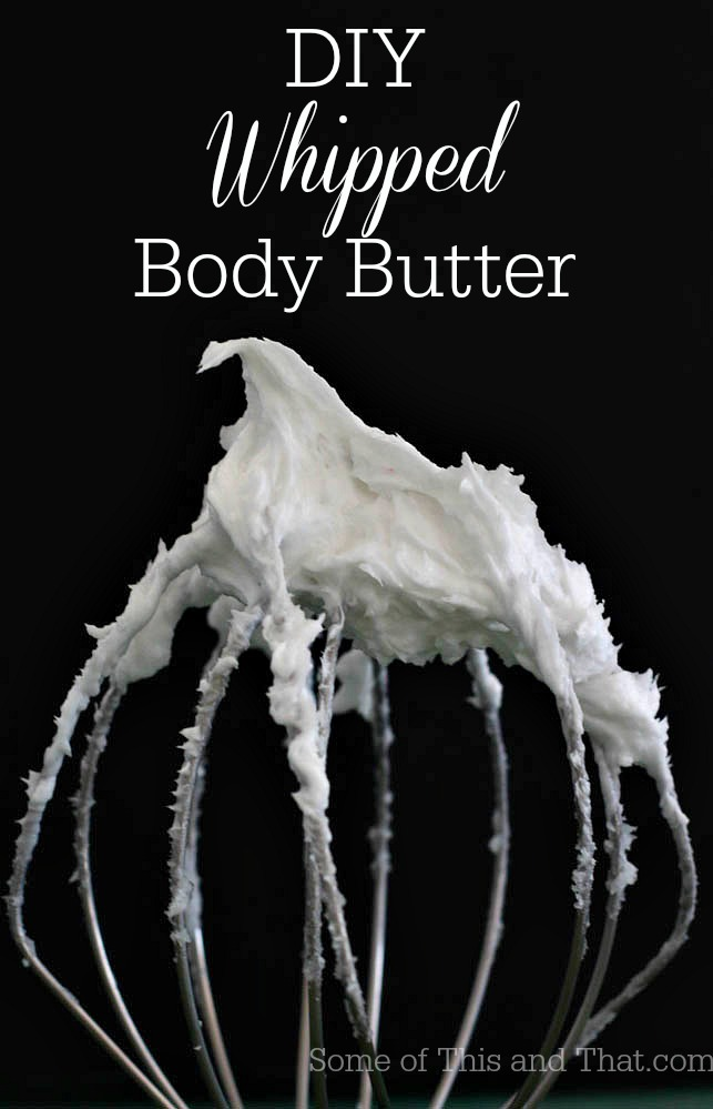 DIY Whipped Body Butter Lotion