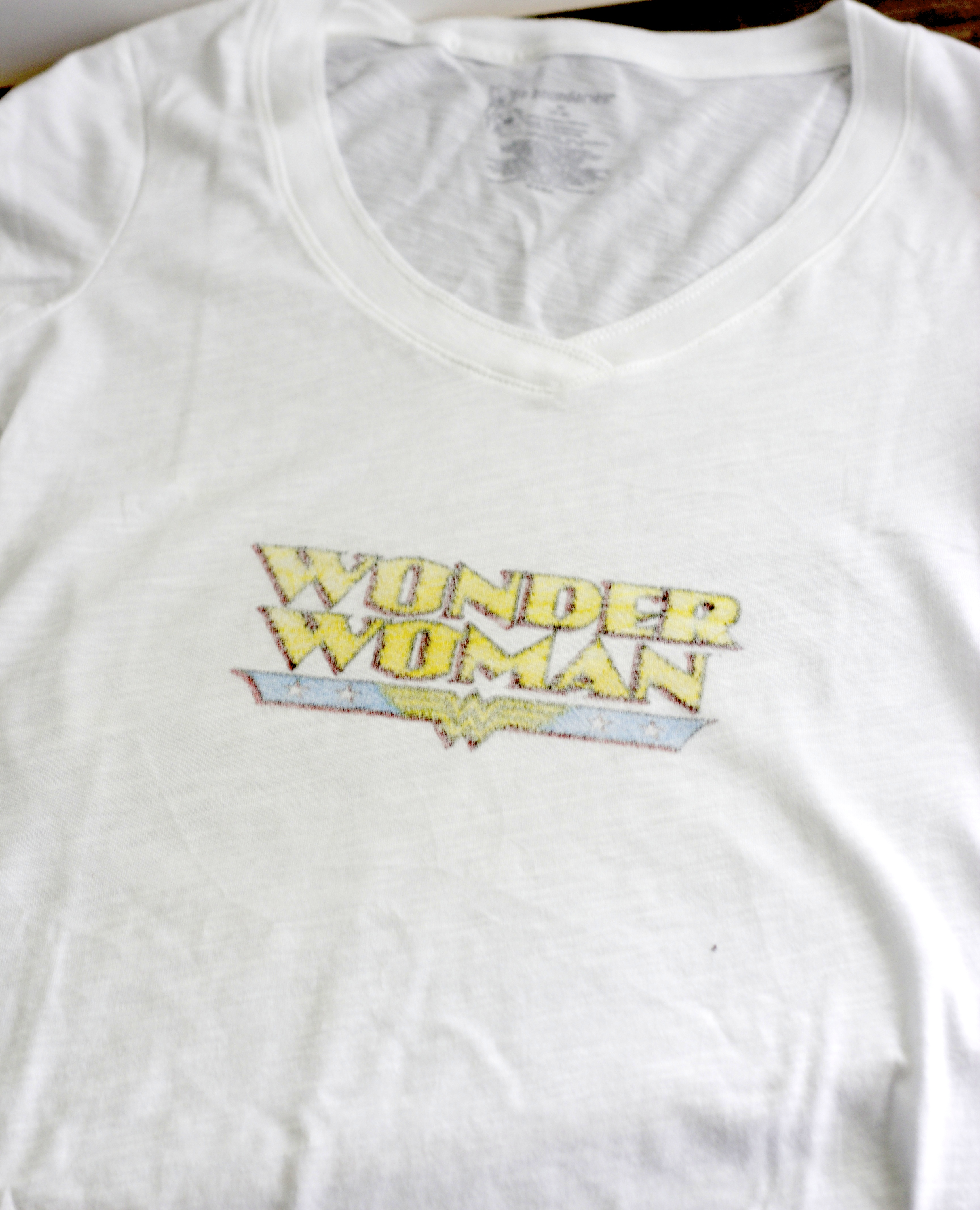 DIY Image Transfer Vintage T-Shirt - Some of This and That