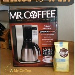 Mr.Coffee Giveaway