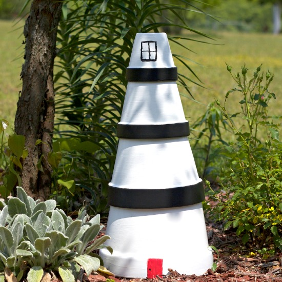 Diy lighthouse lawn ornament some of this and that Tiestos decorados