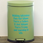 Trash Can Remodel! Make Your Trash Can Pretty!