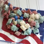 Patriotic Chex Mix