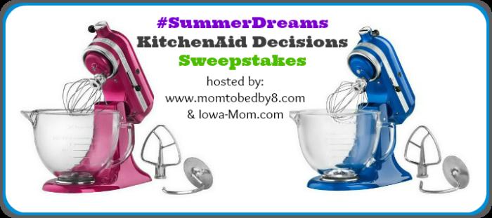KitchenAid Decisions Sweepstakes