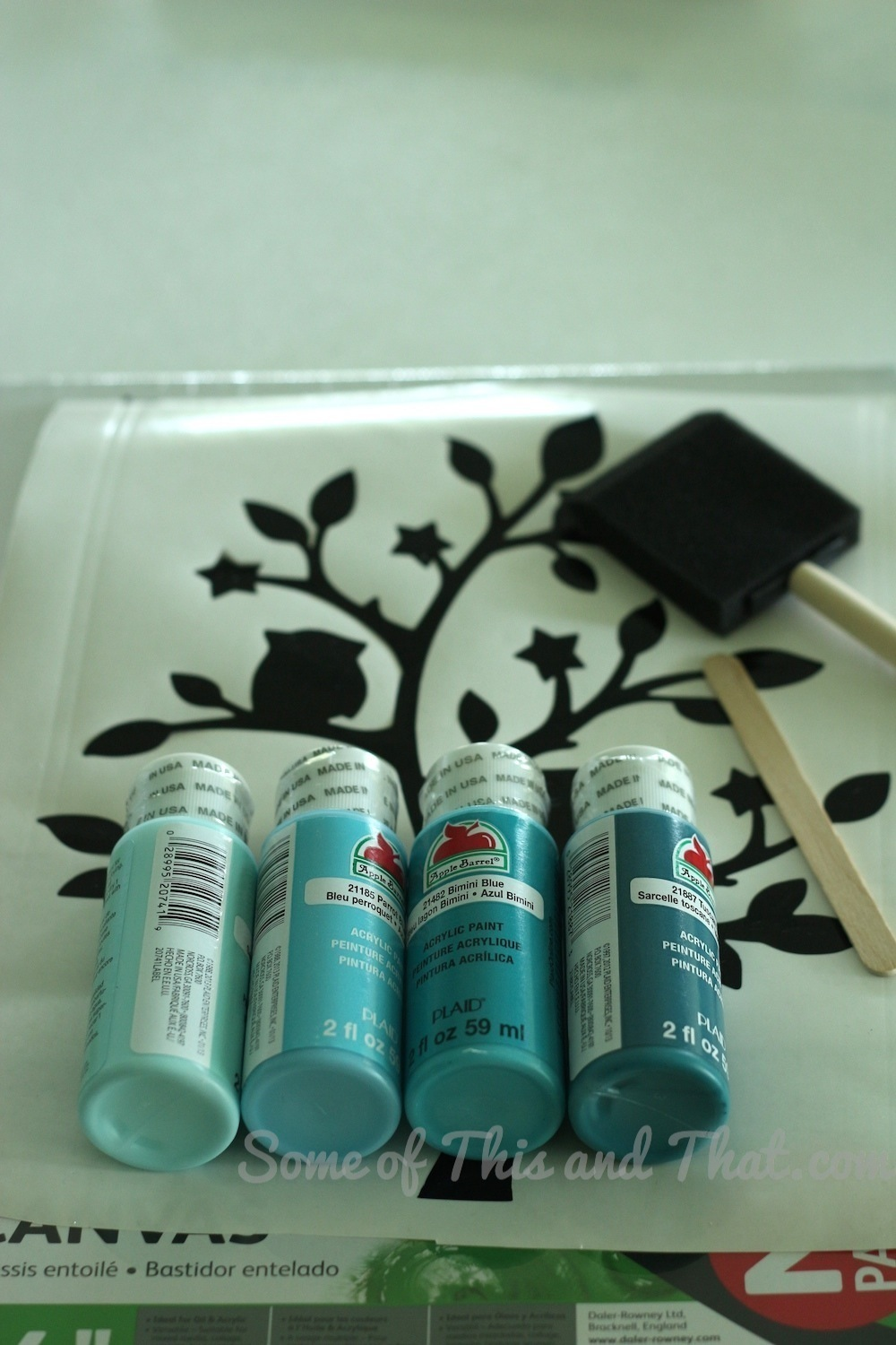 DIY Ombre Wall Art