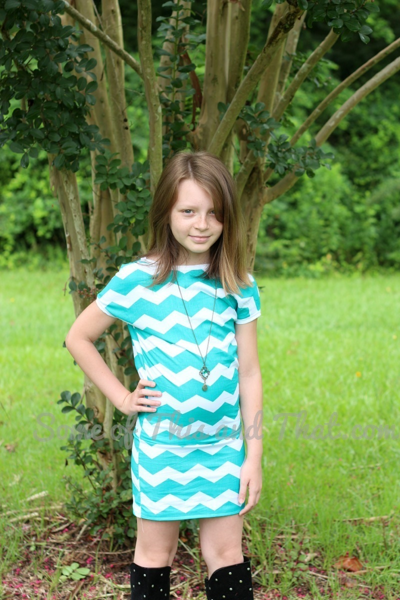 Easy DIY T-Shirt Dress! DIY Tutorial from Some of This and That