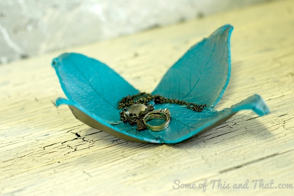 DIY Petal Jewelry Holder