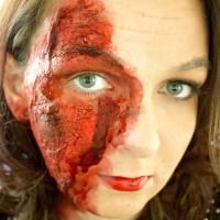 Easy Burn Makeup Tutorial for Halloween