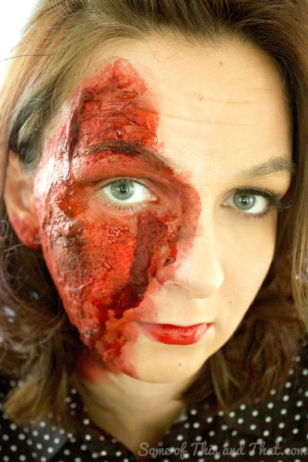 Easy Burn Makeup Tutorial for Halloween