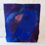 DIY Galaxy Bag! Doctor Who Tardis Bag!