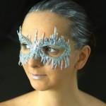 DIY Ice Queen Mask!