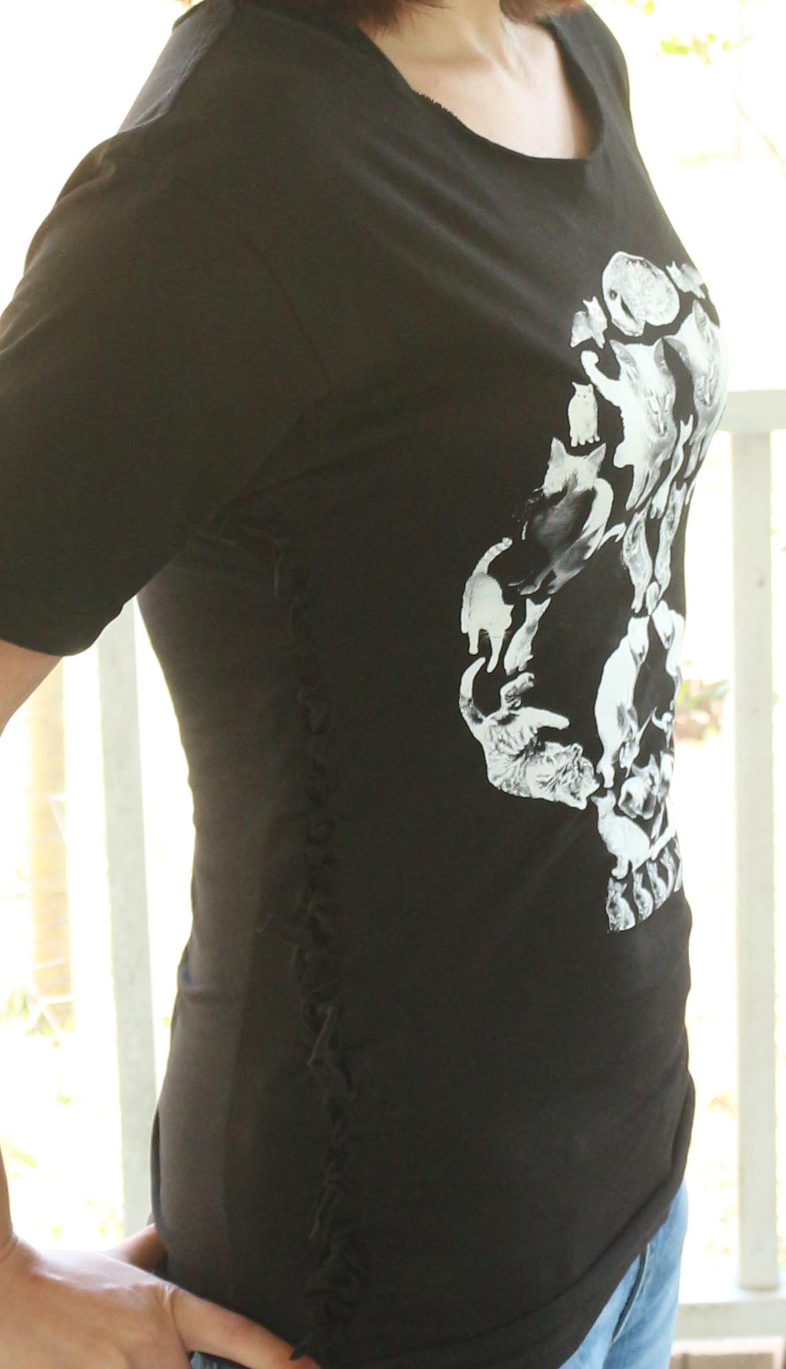 No Sew Tshirt Upcycle!
