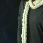 Easy Finger Knit Scarf! DIY Infinity Scarf!