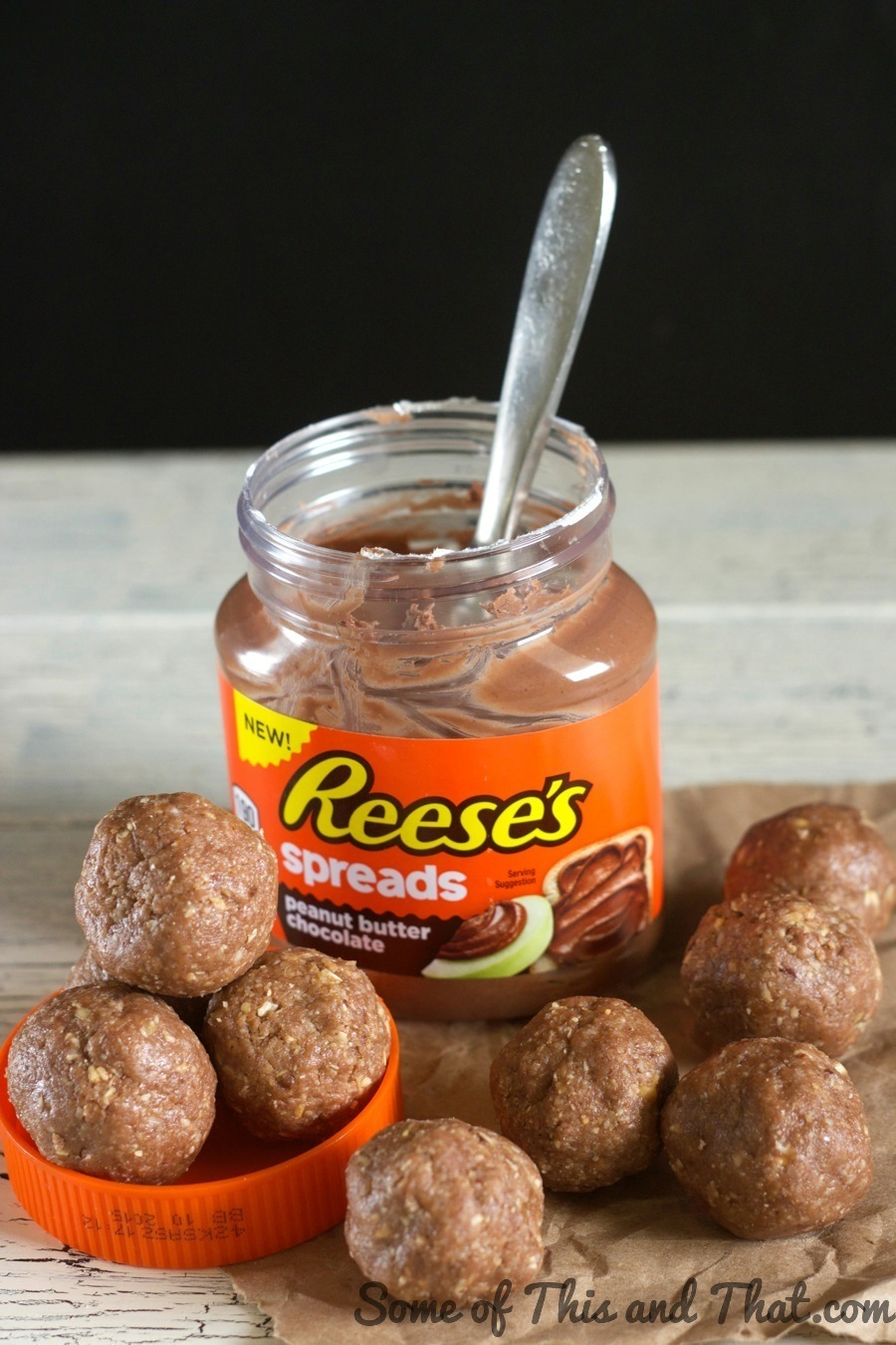 Reese's Peanut Butter & Chocolate Energy Bites