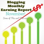 Blog Earnings Report – November