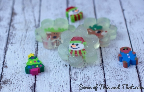 Easy Toy Embedded Soap Gift! DIY Gifts!