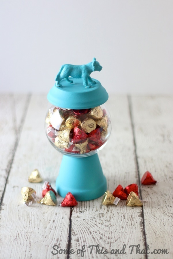 DIY Gumball inspired candy jar!