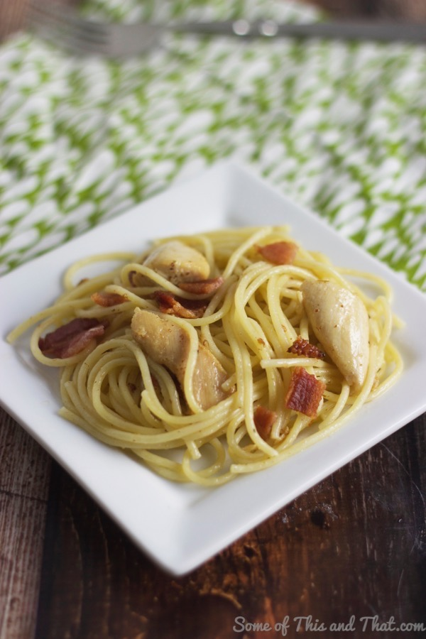 Chicken Carbonara Recipe!