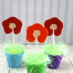 DIY Flower Pops