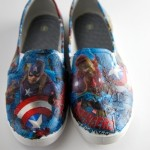 DIY Superhero Shoes! Comic Book Craft!