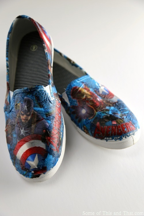 DIY Superhero Shoes!
