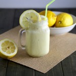 Homemade Frozen Lemonade Recipe!