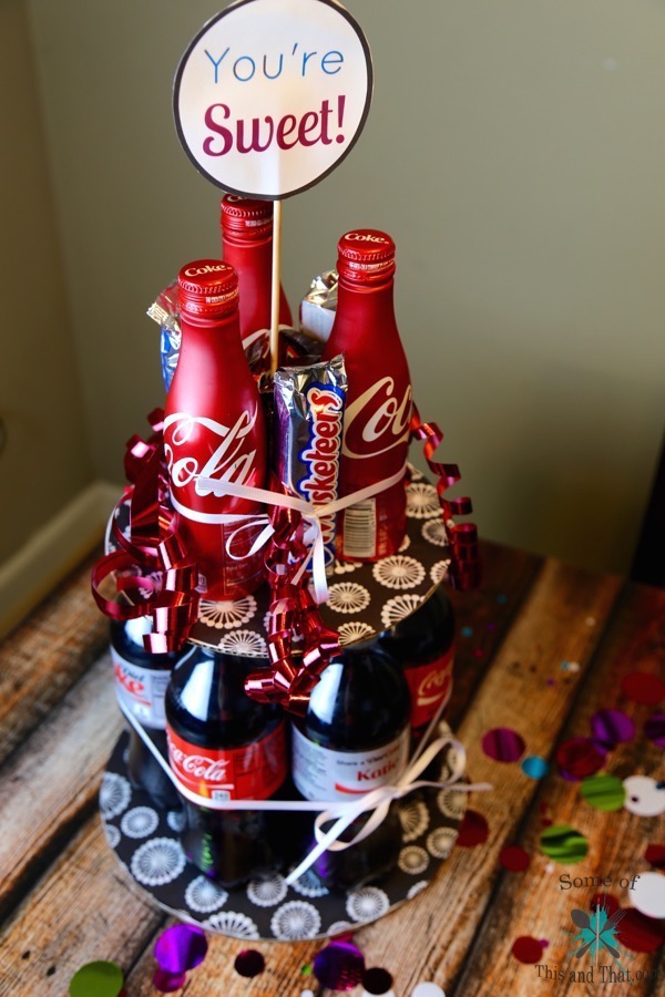DIY Soda Cake!   Summer Gift Idea!