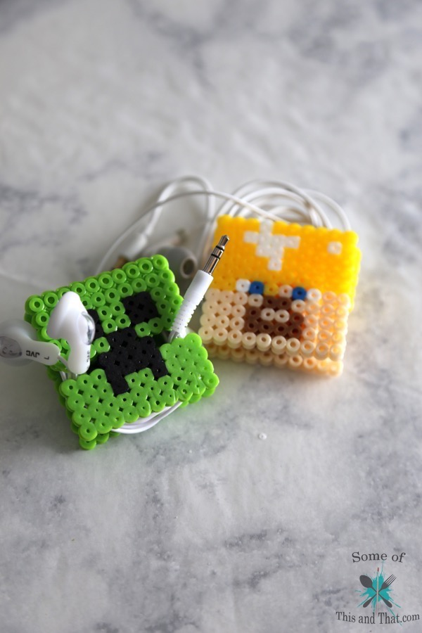 DIY Earbud Holder |DIY Minecraft and DIY Deadpool!