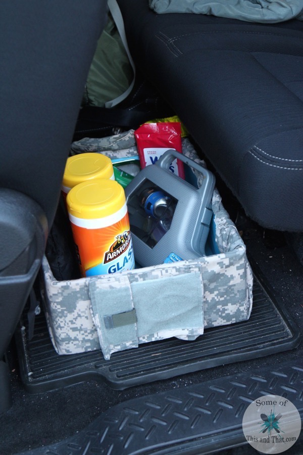 Diy Car Organizer For Men Some Of This And That