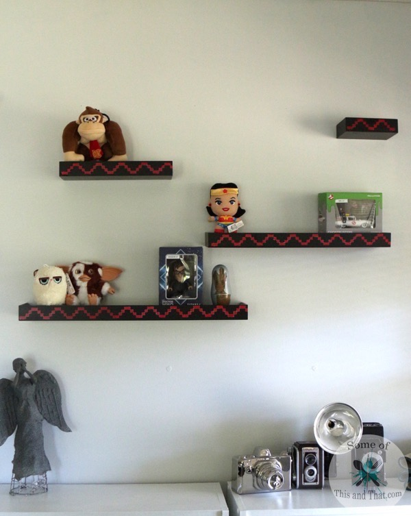 DIY Donkey Kong Shelves