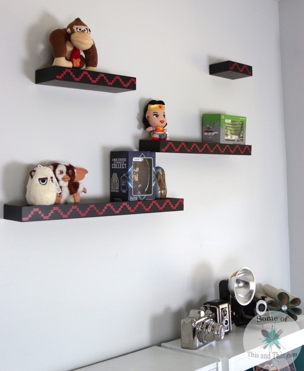 DIY Donkey Kong Shelves