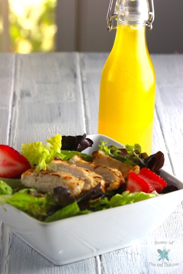 Citrus Honey Vinaigrette | Easy Meal Idea!