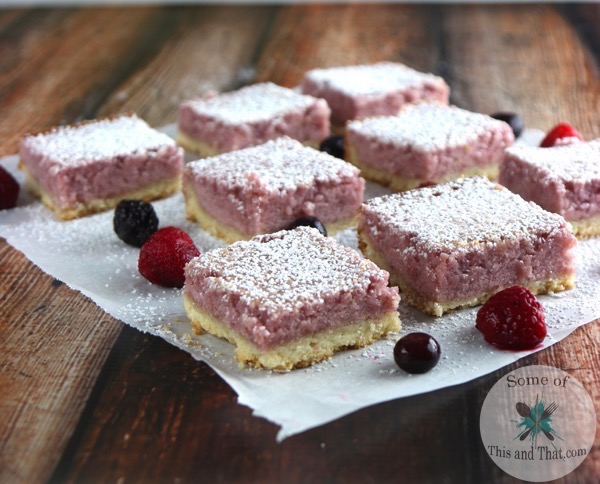 Berry Lemonade Bars | Easy Summer Recipe