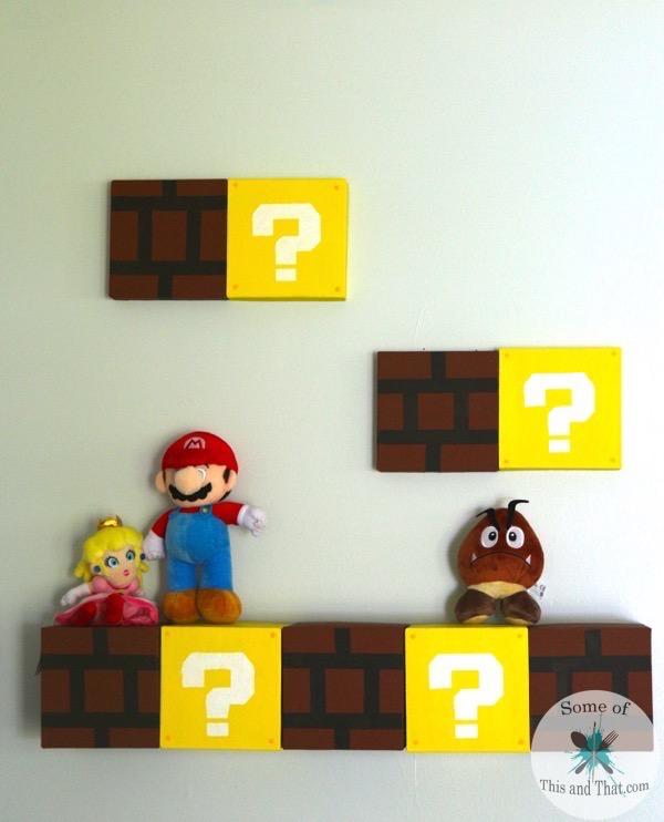 DIY Mario Shelves | Nerdy Crafts!
