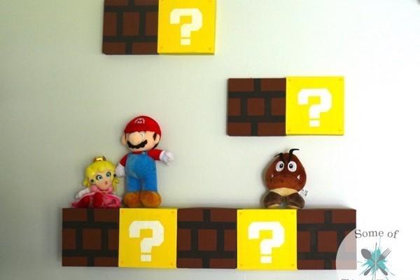 DIY Mario Shelves | Nerdy Craft!
