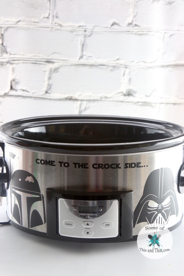 DIY Star Wars Crock Pot
