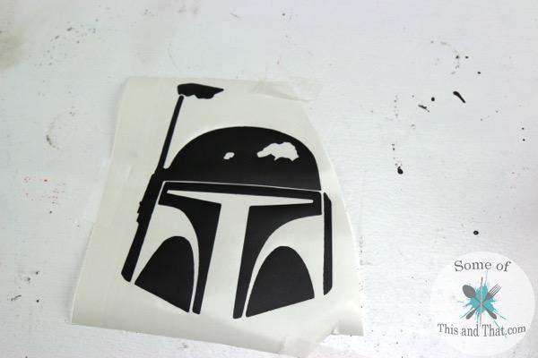 Star Wars Themed Kitchen Aid Mixer bobba fett