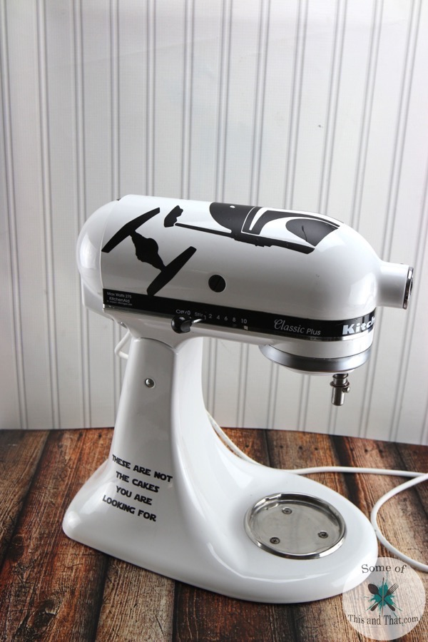 Star Wars Themed Kitchen Aid Mixer