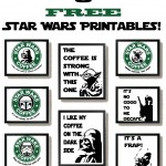 Free Star Wars Printables with a Coffee Theme!
