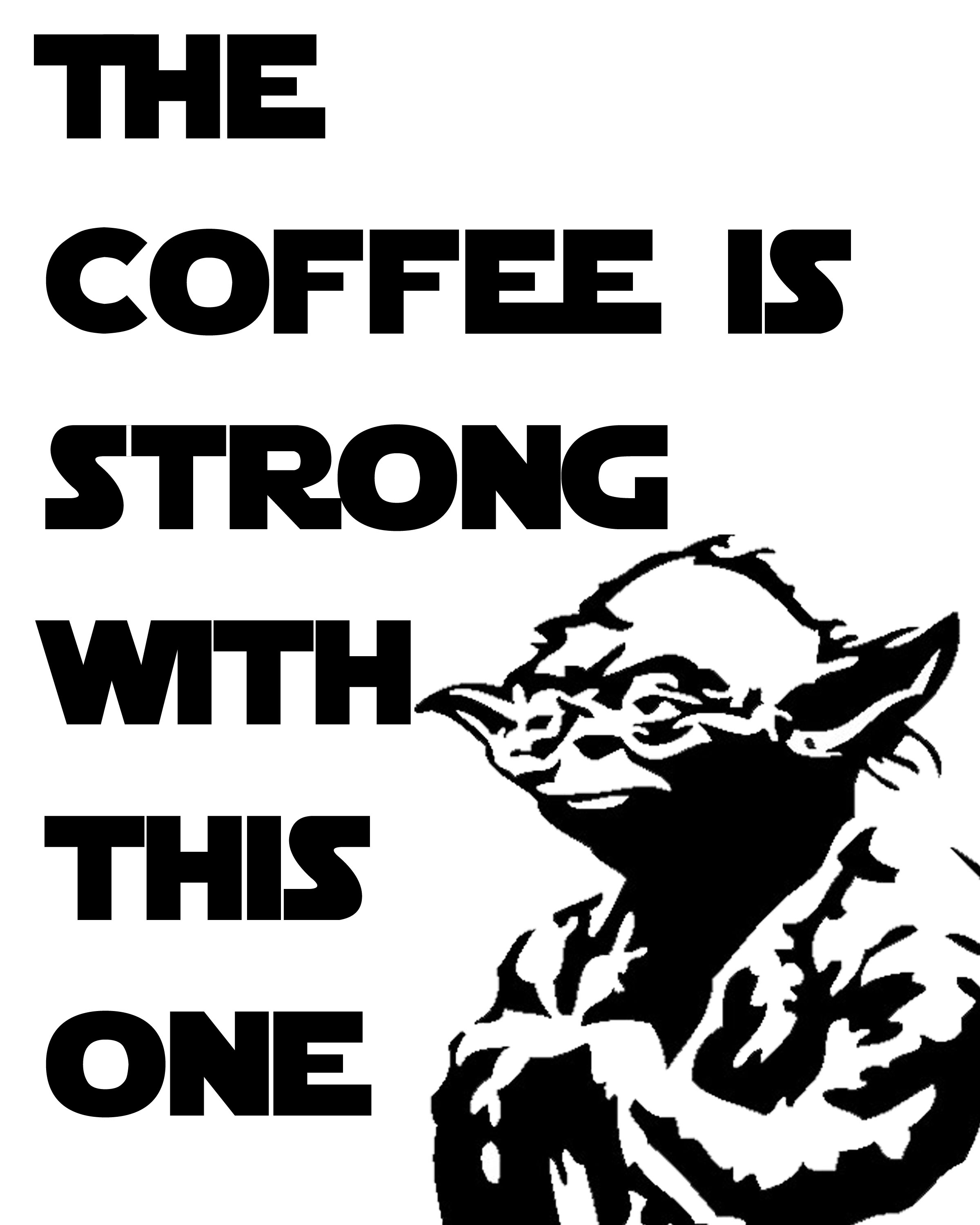 Free Star Wars Printables With A Coffee Theme Some Of