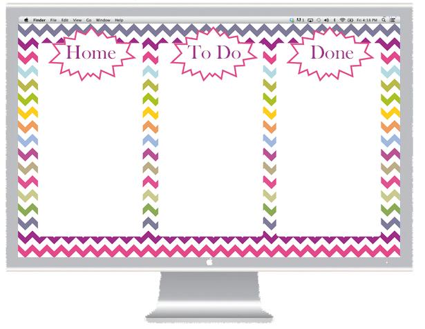 Free Desktop Organizers
