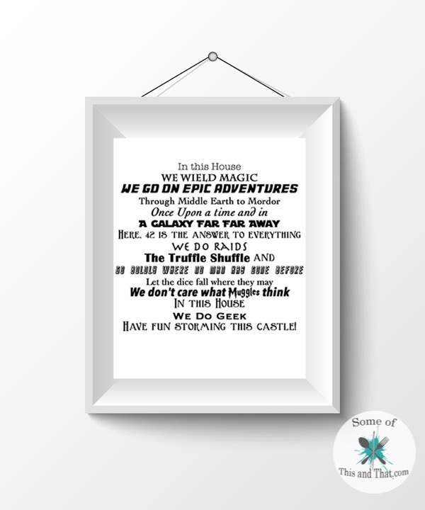 Epic Adventure Printable