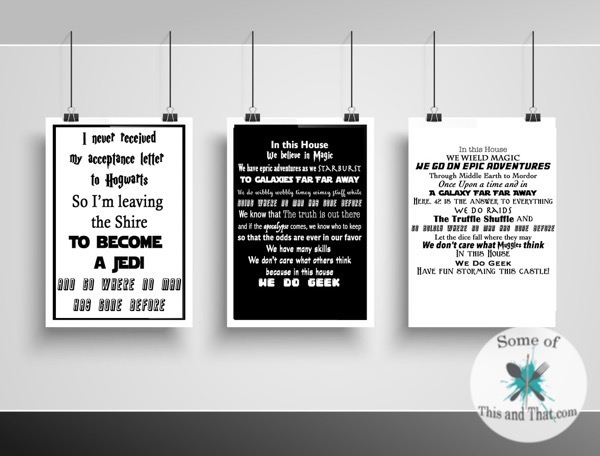 Free Nerdy Printable!s In Our Home Printables!