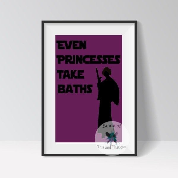 Princess Bathroom Printable Star Wars Printable