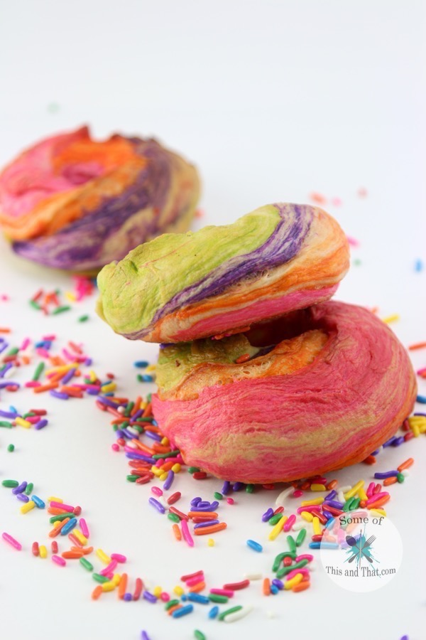 Rainbow Bagels Recipe!