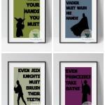 Free Star Wars Bathroom Printables!