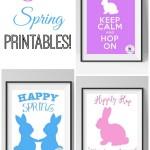 Free Spring Printables!