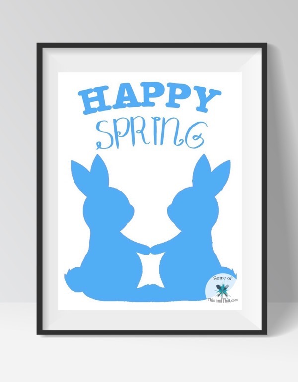 Free Spring Printables! Happy Spring Free Printable!